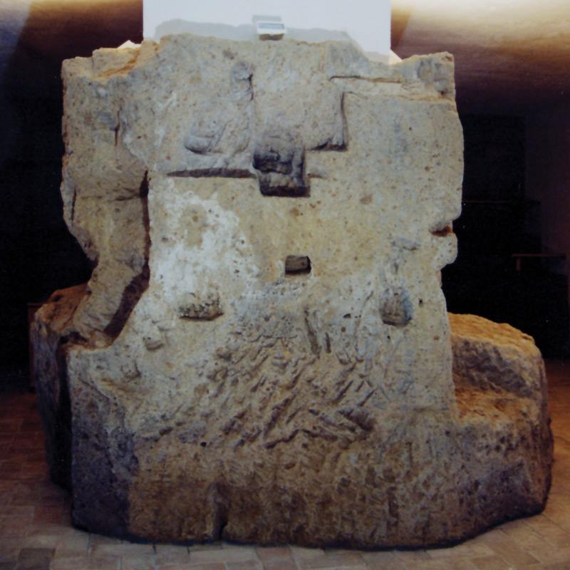 il pilastro della casa-torre