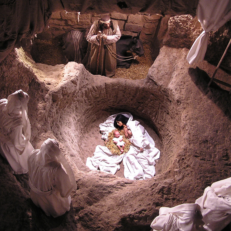 The Nativity in the Well