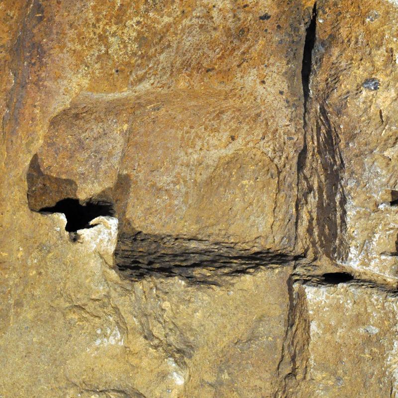 la nicchia della grotta grande