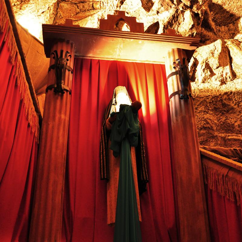 Simeone al tempio
