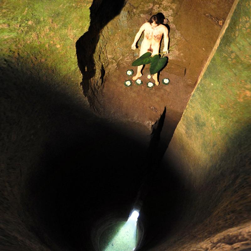 Adamo nel Pozzo della Cava
