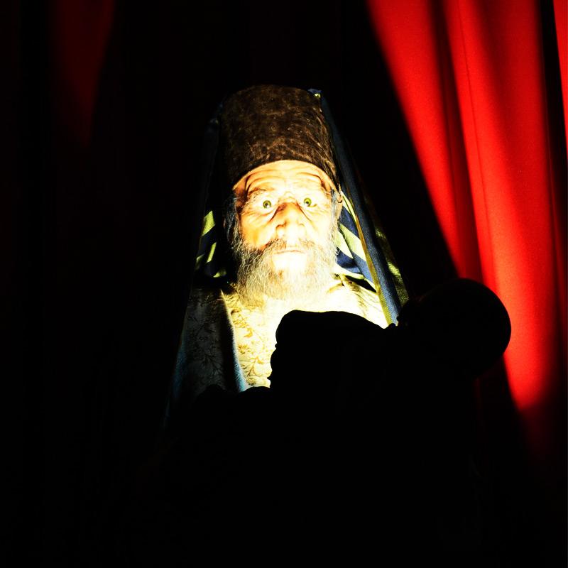 Simeone incontra la luce del mondo