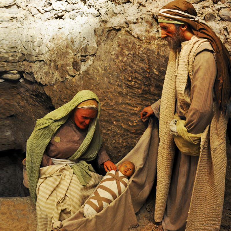 Abramo, Sara e il piccolo Isacco