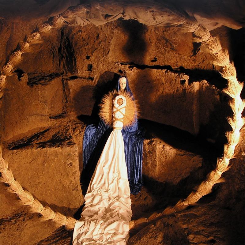 Natività nel grano