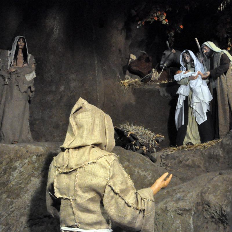 Madonna Povertà, Francesco e la Natività di Greccio