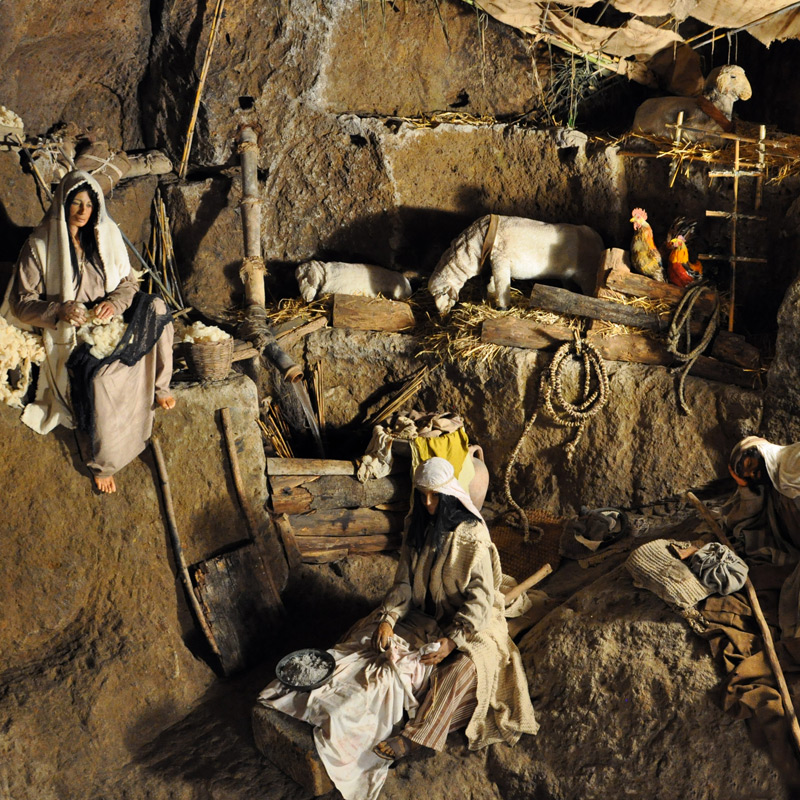 the cave of the shepherds