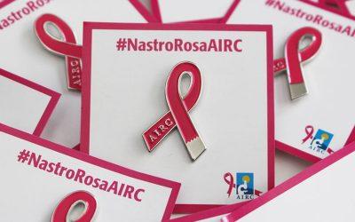 Il Pozzo della Cava si tinge di rosa per il mese della prevenzione AIRC