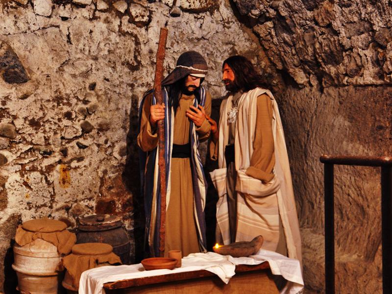 Debutto a gonfie vele per il Presepio di Giuda