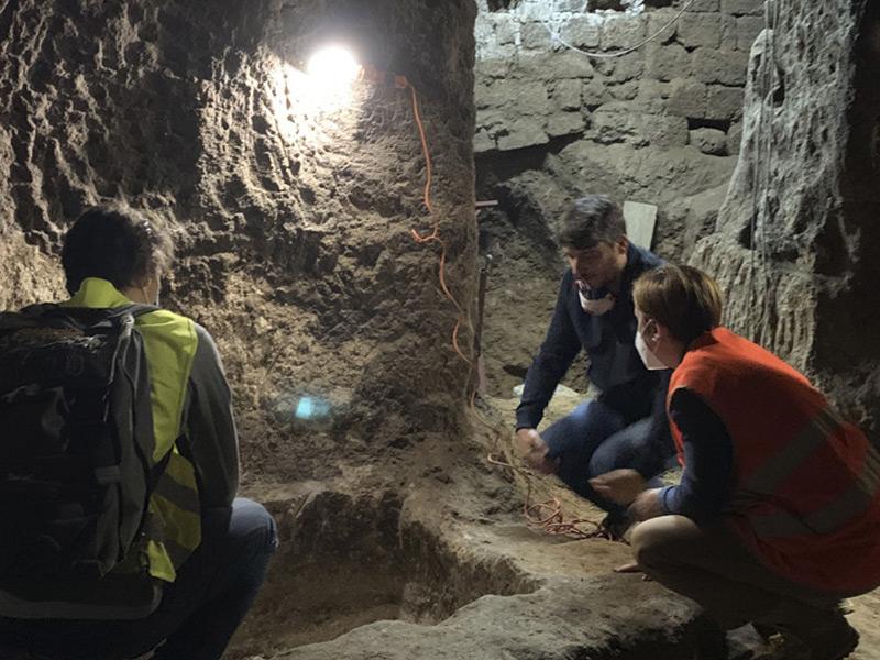 Dai lavori ipogei del Pozzo della Cava emerge la calce del medioevo