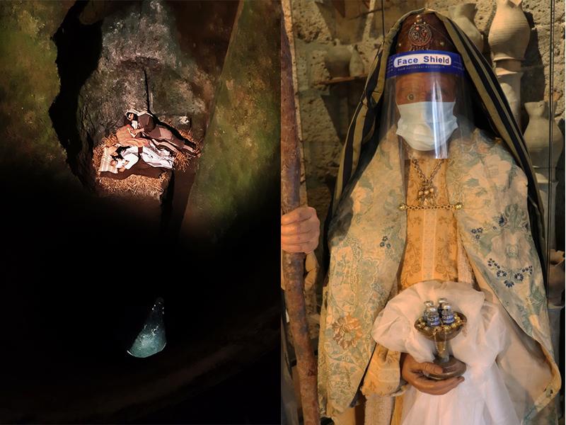 Natività nel Pozzo con i Magi anti-Covid