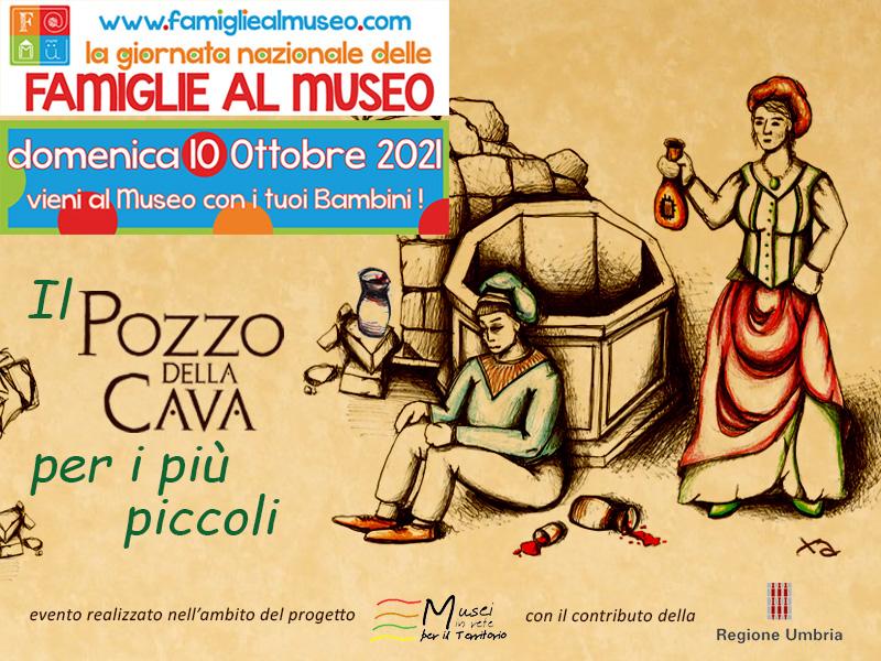Il Pozzo della Cava aderisce alla Giornata Nazionale delle Famiglie al Museo che si terrà domenica 10 ottobre